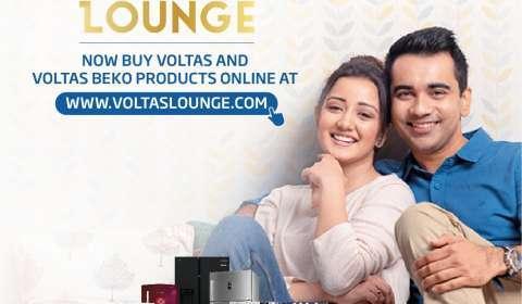 Voltas Launches its Exclusive Online Web Store www.voltaslounge.com