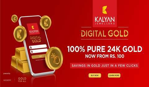 Kalyan Jewellers Forays into DG Gold Space