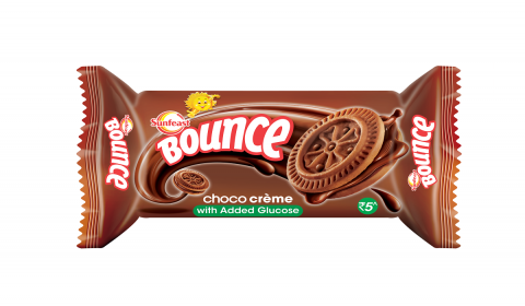 ITC's Sunfeast Bounce Enriches its Creme Biscuit Range with Glucose