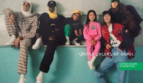 Benetton Launches Collaborative Capsule Collection 'United Colors of Ghali'