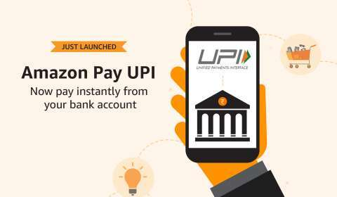 Amazon Pay UPI Now Being Used by 5 crore Customers