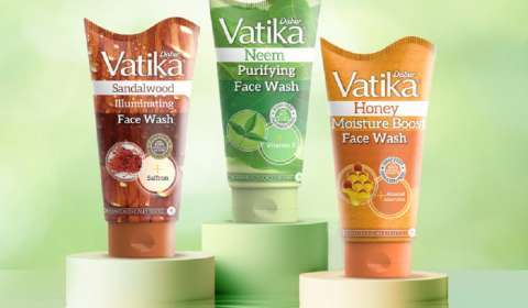 Dabur Launches Face Wash Variants Under Vatika Brand