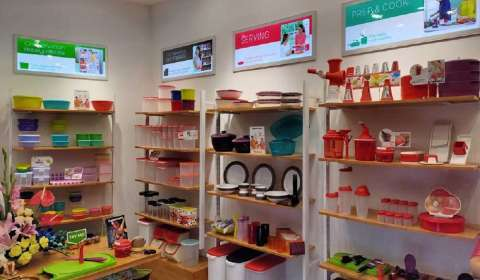 Tupperware to Open 1,000 Retail Outlets in Five Years