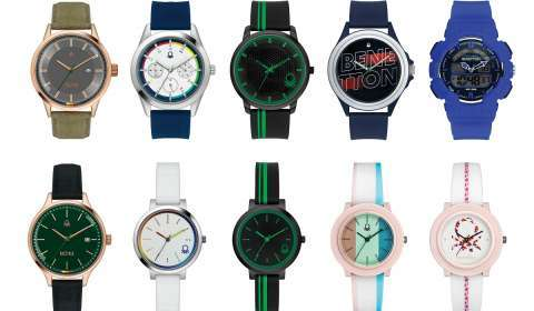 Benetton & Timex India Debut 'Benetton Timewear' Collection Exclusively for Indian Market