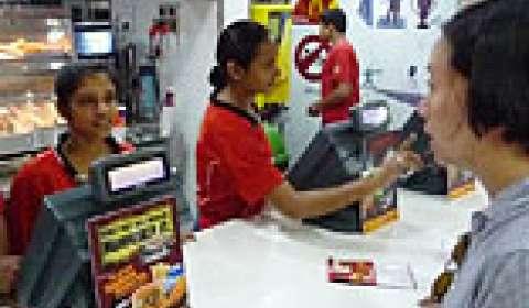 Retail staff training