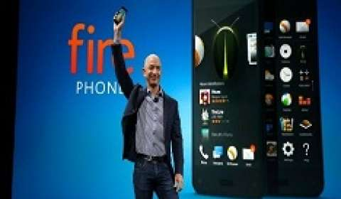 Amazon challenges rivals with 3D \\\\\\\'Fire\\\\\\\' smartphone