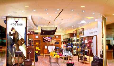 Hidesign launches unique concept store at Bangalore airport