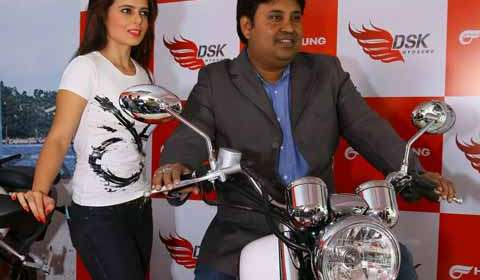 DSK Hyosung inaugurates superbikes showroom in Kochi