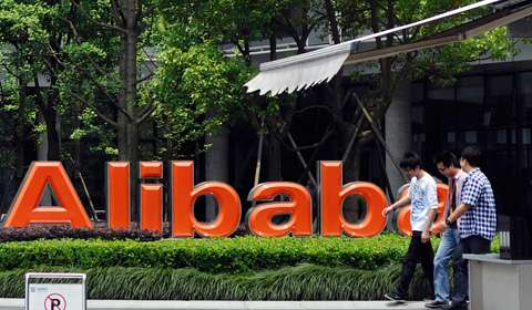Alibaba 1Q revenue jumps as it sees more shoppers