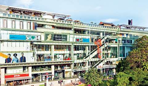 Best Shopping malls 2015: 1 MG Road Mall