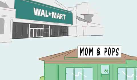Mom-and-pop stores fight back!