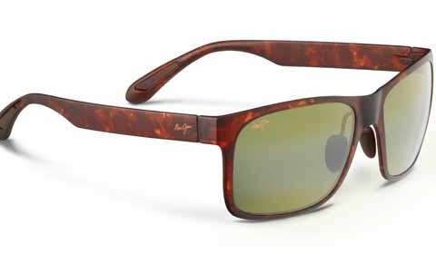 Red Sands: Maui Jim¹s new collection offers both gravity and spunk to your style