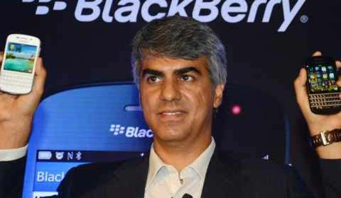 BlackBerry India head Sunil Lalvani quits India head Sunil Lalvani quits