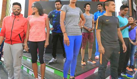 Fashion and sports recreated in Nike's B'lore Store