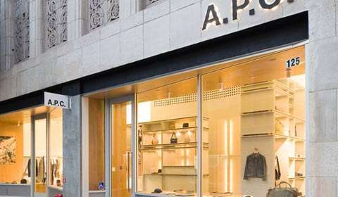 A.P.C. Los Angeles store by Laurent Deroo, redefines exquisiteness