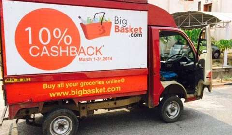 BigBasket raises $50m Bessemer Venture Partners,eyes $1bn value from new investors