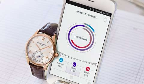 Frederique Constant unveils its smartwatch in India