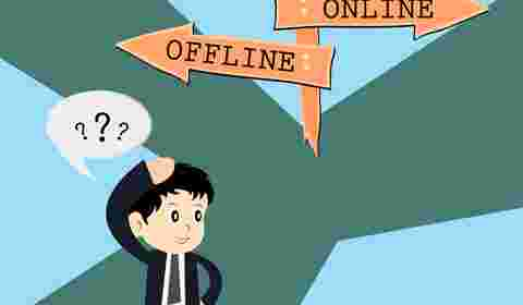 Blurring lines between Online and Offline payments