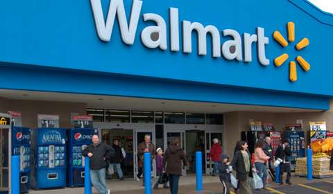 Wal-Mart's India sales dip 32% in 2014