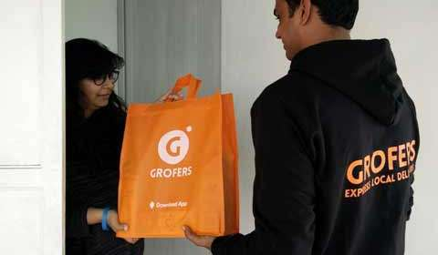 Grofer to deliver smartphones