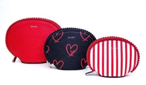 Revlon-branded cosmetic bags