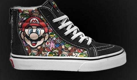Vans Nintendo footwear