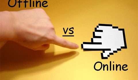 Online vs Offline Shooping