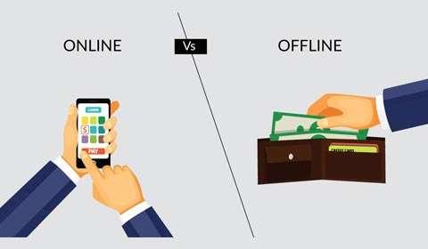 Online vis-a-vis Offline retail format