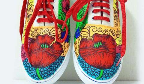 Poshampa launches the new line of  canvas shoes