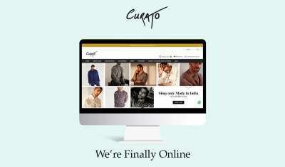 Curato,a  men-exclusive multi-designer Store set to launch its E-commerce website.