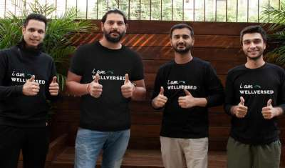Cricketing Icon And Entrepreneur Yuvraj Singh Invests in Nutrition Healthcare Startup Wellversed