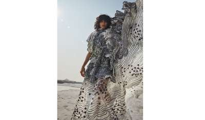 Witness the marvels of nature with Rahul Mishra's New Spring Summer 2021 collection- The Dawn