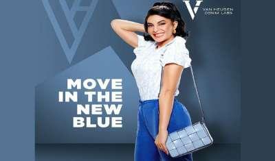 Van Heusen Launches New Denim Brand; Signs Jacqueline Fernandez as Brand Ambassador