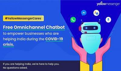 Omnichannel AI chatbot to Empower Organizations Fighting India's COVID-19 Crisis