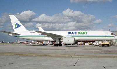 Blue Dart Express Reports Net Profit of Rs 90 cr in Q4