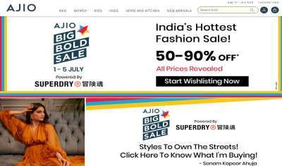 Ajio Accounts for 25 pc of Reliance Retail's Apparel Sales
