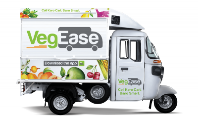 VegEase Launches Grocery Cart-At-Home in Haryana and UP