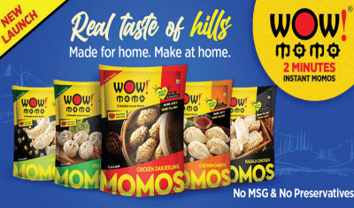 Wow! Momo Enters into FMCG Category with Ready-to-Eat Momos