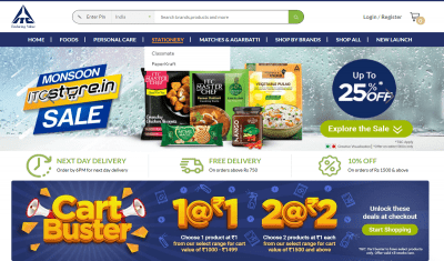 ITC to Double its E-Store Presence to 14 Cities