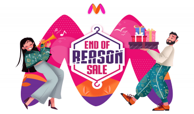 Myntra Records 60 pc growth in EORS