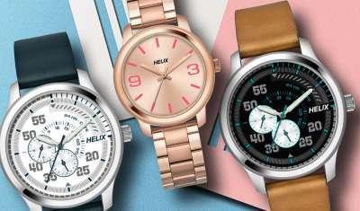 Helix Unveils New Range of Watches