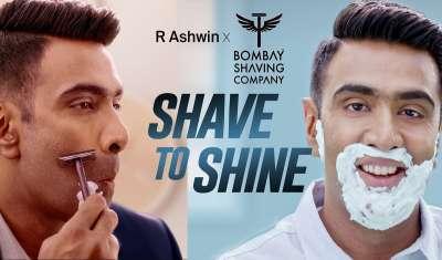 Indian Cricketer R Ashwin Joins Bombay Shaving Company as Brand Ambassador