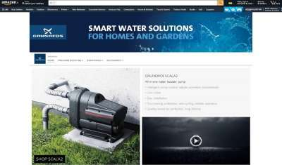 Grundfos Launches Brand Store on Amazon India