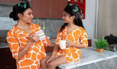 Fashion Couture Brand Aks Launches Mother-Daughter Duo Collection 2021