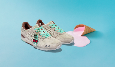 Nice Kicks, ASICS Collaborate to Launch 'Nice Cream' Sneakers