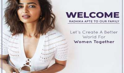 D2C Feminine Hygiene Brand Sanfe Onboards Radhika Apte as its Brand Ambassador