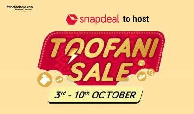 Snapdeal to Host 'Toofani Sale' Between October 3-10