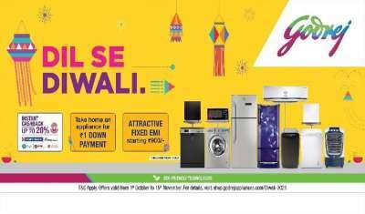 Godrej Appliances Eyes Double-Digit Growth this Festive Season