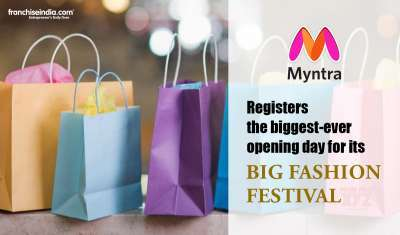 Myntra Registers the Biggest-Ever Opening Day for its Big Fashion Festival with ~19 Million Visitors
