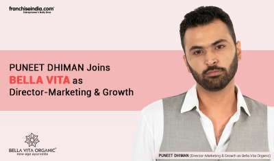 Puneet Dhiman Joins Bella Vita as Director - Marketing & Growth